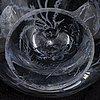 A 'fiskgraal' glass vase bya edward hald orrefors