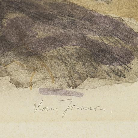 Lars jonsson, lithograph, signed 54/350.