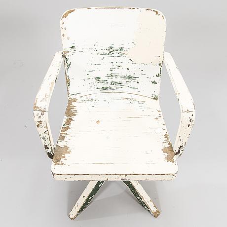 Werner west, a 1930's desk chair for wilhelm schaumann oy, finland