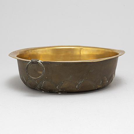 Dopfat, mässing, 1600-/1700-tal.