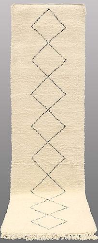 A moroccan runner, ca 330 x 90 cm