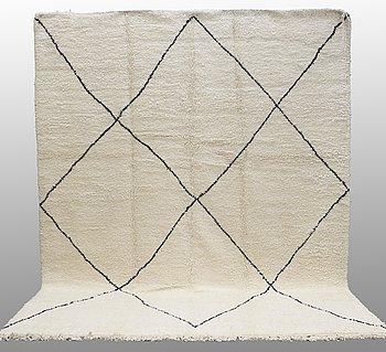 A carpet, Morocco, ca 345 x 270 cm.