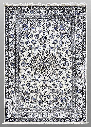 A rug, nain, ca 240 x 171 cm.