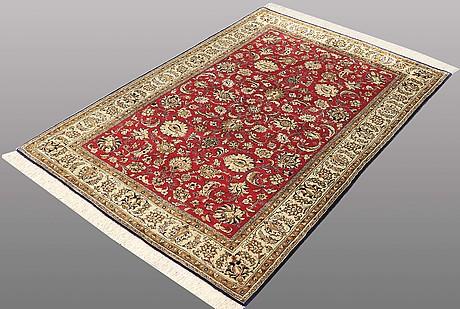 A rug, silk qum, ca 160 x 107 cm