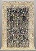 A rug, figural nain, so called 6 laa, ca 283 x 180 cm