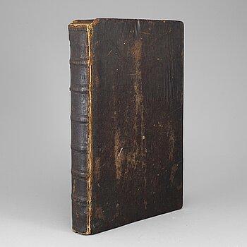 A swedish bible, 1724.