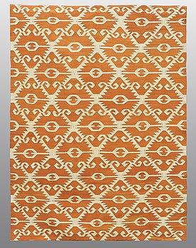 A CARPET, flat weave, ca 240 x 177 cm.