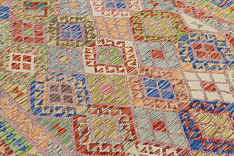 A rug, kilim, ca 238 x 186 cm.
