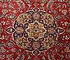 A semaitnique kashan carpet ca 390 x 292 cm