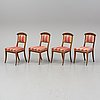 Four mid 20th century chairs.