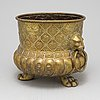 An 18th/19th century brass champagne cooler.