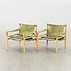Arne norell, a pair of sirocco armchairs