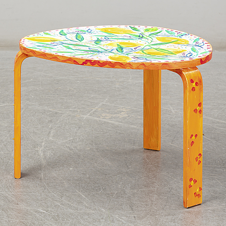 A painted table by lena linderholm 2017