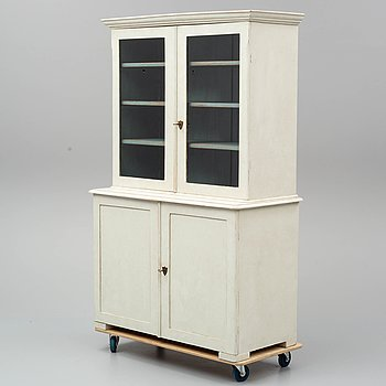 A mid 19th century display cabinet.