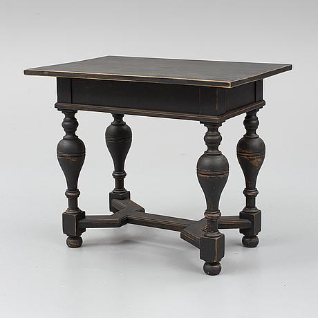 Bord, barockstil, omkring år 1900.