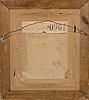Adolf von becker, oil on canvas laid on board,
