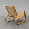 Luigi crassevig, a rocking chair, italy