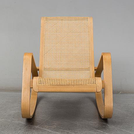 Luigi crassevig, a rocking chair, italy.