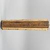 Takkrona med krokar, allmoge, 1800 tal