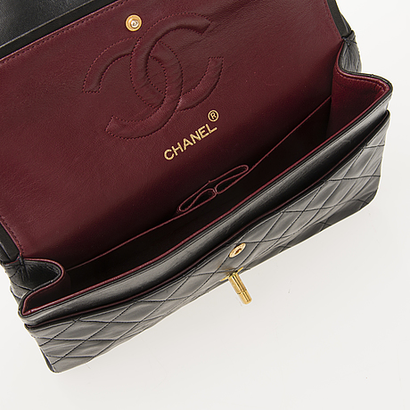 Chanel double flap bag