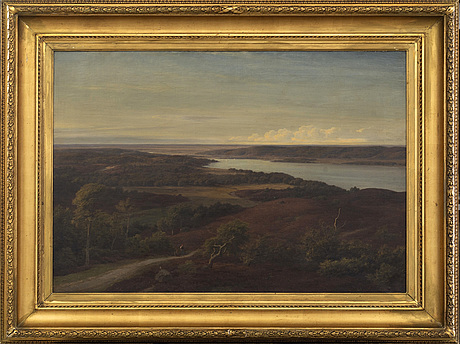 Georg emil libert, oil on canvas, signed
