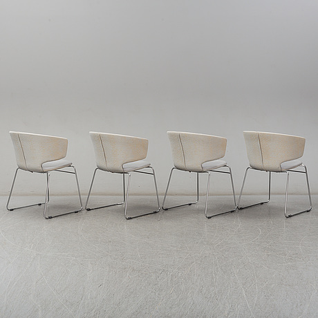 A set of four 'taormina' armchairs for alias