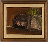 Evert lundquist, oil on canvas, signed verso.