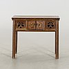 A chinese 20th century sideboard.