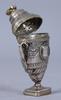 Luktdosa, silver, möjligen danmark, 1800-tal. otydliga stämplar. 47 gram.