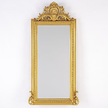 A late 19th / early 20th century mirror.