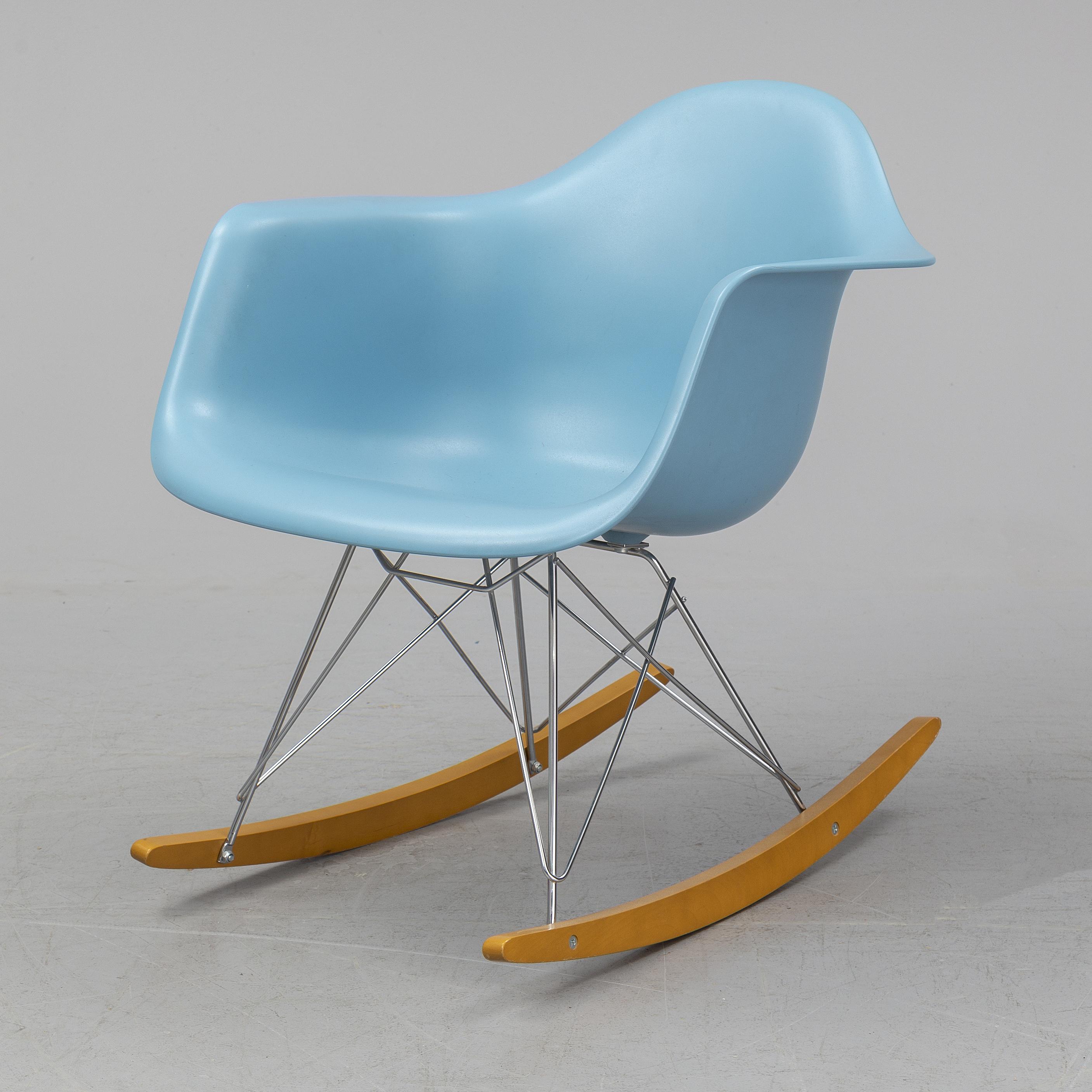 Marvelous Charles Ray Eames A Rar Rocking Chair From Vitra 2009 Inzonedesignstudio Interior Chair Design Inzonedesignstudiocom