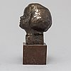 Jonas frÖding, a bronze sculpture, signed.