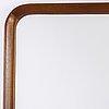 A mahogany framed mirror, 1930's/40's.