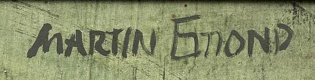 Martin emond, oil on panel signed