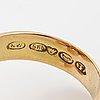 Liisa vitali, ring, 14k gold. kultakeskus, helsingfors 1972.
