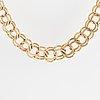14k gold necklace, finnish hallmarks