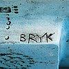 Rut bryk, three stoneware reliefs signed bryk.
