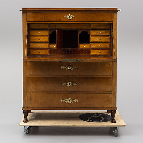 A swedish empire chiffonier, first half of the 19th century.
