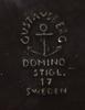 Parti porslin, 5 delar, gustavsberg, rörstrand samt kunglig dansk.