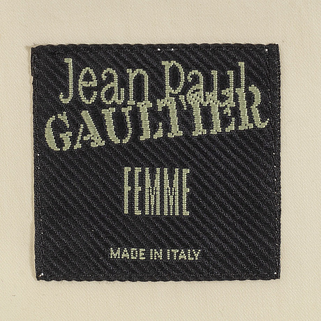 Jean paul gaultier, trenchcoat.