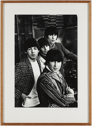 Jacob forsell, photograph of beatles signed jacob forsell.