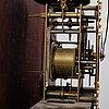 An english longcase clock.