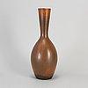 Carl-harry stÅlhane, a stoneware vase, from rörstrand, 1950/60s.