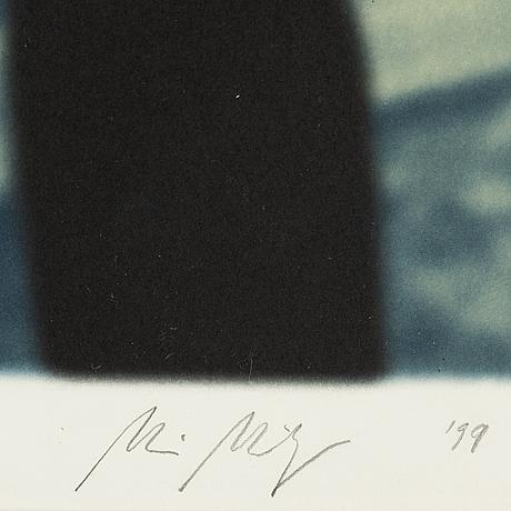 Maria miesenberger, litografi, signerad och daterad -99, numrerad 159/290.