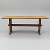 A 1920s-30s dining table.