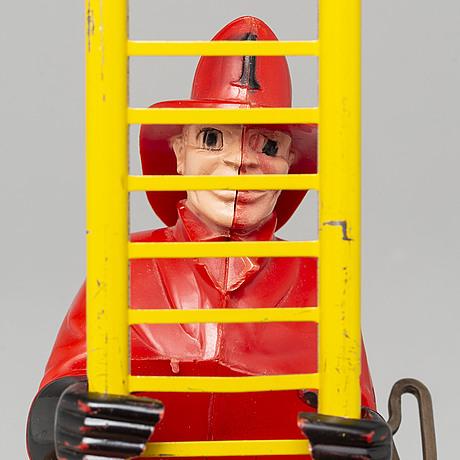 "Marx toys, ""the climbing fireman"", 1950/60-tal."