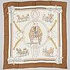 HermÈs, two silk scarfs