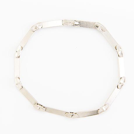 Lapponia, halsband och armband, sterlingsilver, 1988-1995.