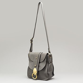 CHLOÉ, a grey leather bag.