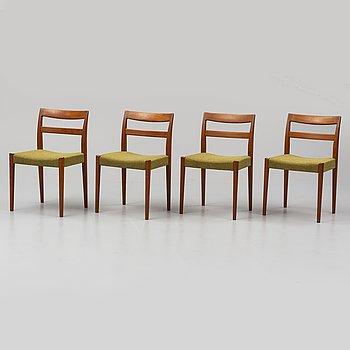 Four chairs by Nils Jonsson, Troeds, Bra Bohag.